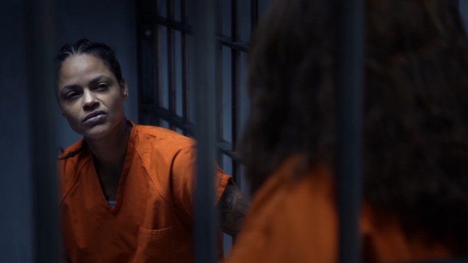 Katheryn Has a Cellmate
