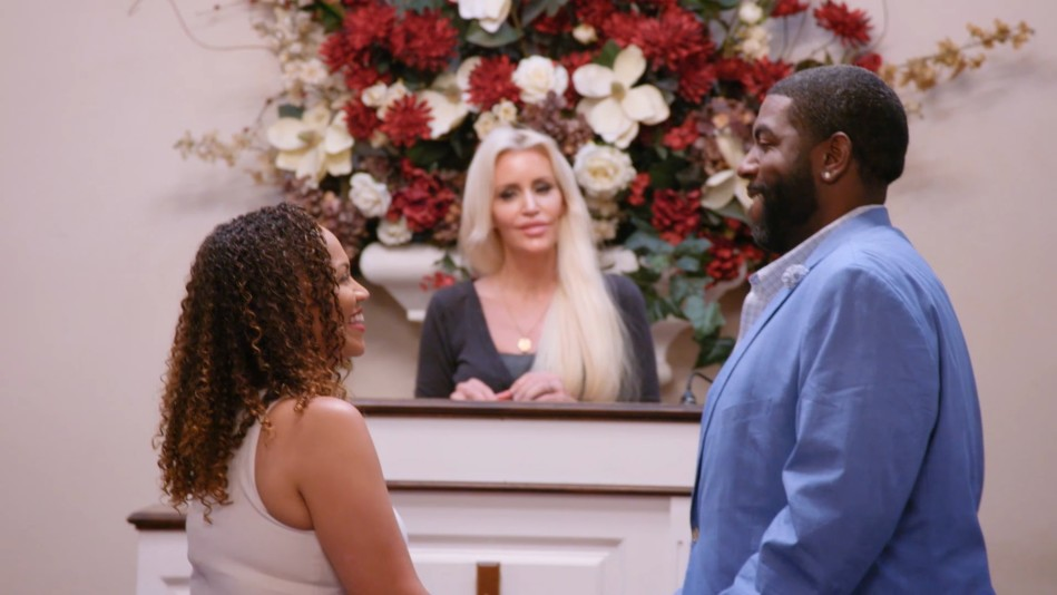 Tiffany and Louis Renew Their Vows