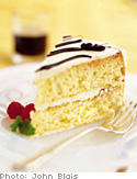 Sponge Cake with Buttercream Frosting
