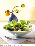 Salad of Arugula and Shaved Parmesan