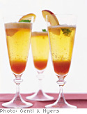 bellini i have made the sorbet with peach bellini peach ginger bellini ...