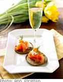 Blini with Smoked Salmon