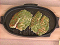 Grilled Fish Fillets with Watercress Mustard