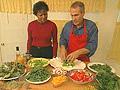 Organic Salad with Fresh Herbs