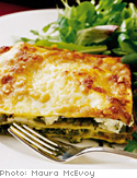 Asparagus and Pesto Lasagna