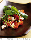 Image of Arugula Salad With Baked Ricotta, Oprah