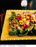Roasted Vegetable Salad with Sherry Vinaigrette