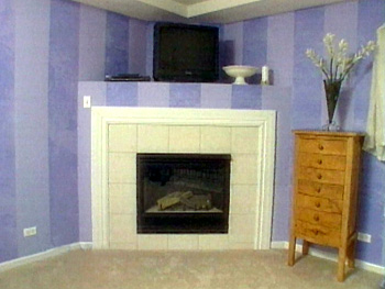 Old fireplace needs a makeover.