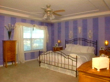 This is Craig and Tracey's room before