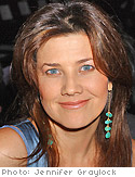 Actress Daphne Zuniga