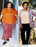 Obesity expert Andriette Ward herself once weighed 290 pounds.