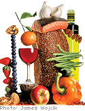 Dieting on nuts, wine and olive oil
