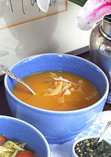 Curry Carrot-Ginger Soup