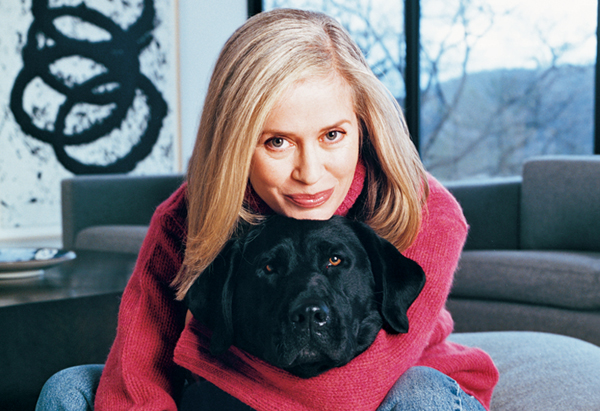 Amy Hempel and her dog
