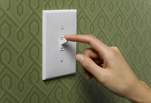 Turning the lights off