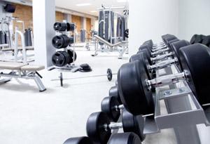 Empty gym