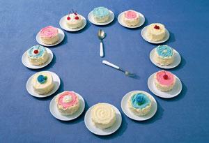 cake clock