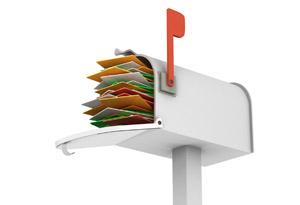 Clogged mailbox