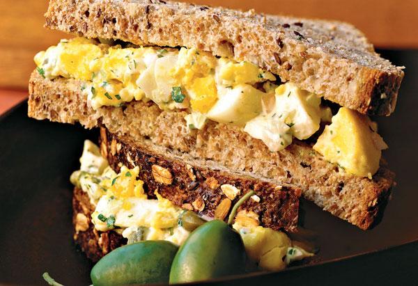 Egg Salad with Tarragon Mustard