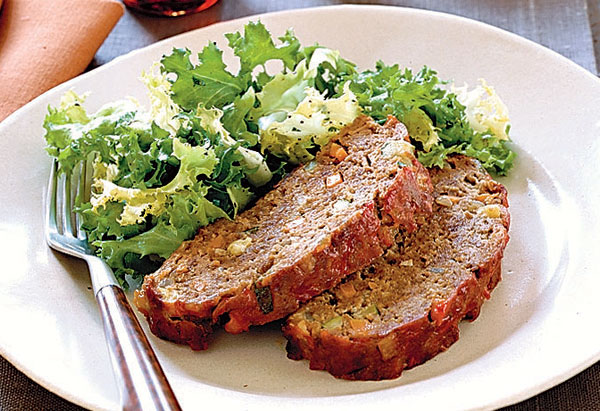 Cardamom-Spiced Meat Loaf