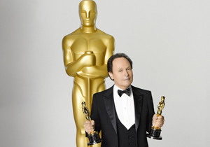 Billy Crystal and Oscar statue