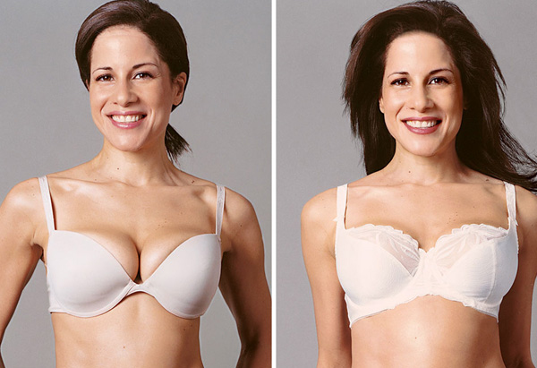 Vivienne, bra support makeover