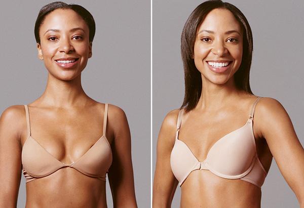 Saudia, cleavage bra makeover