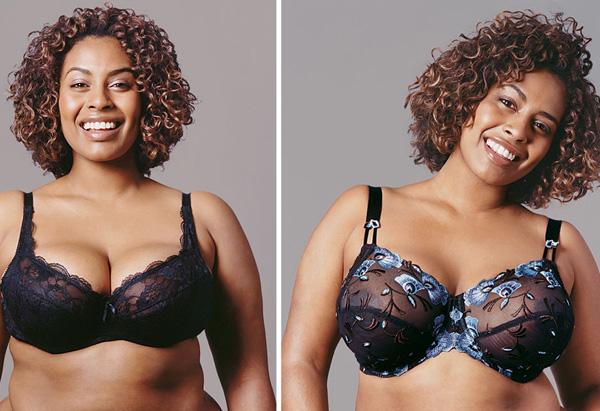 Jordan, lift and separating bra makeover