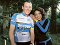 Lance Armstrong and Oprah