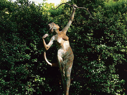 Statue of Diana the huntress
