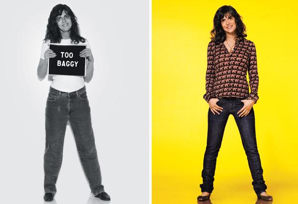 Debby's slim-cut jeans