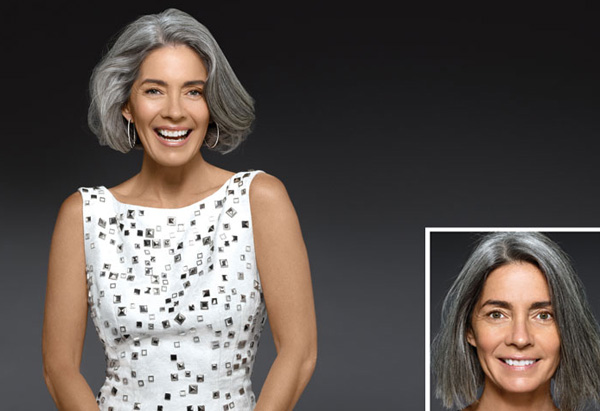 Gorgeous Gray Hair Makeovers Pictures