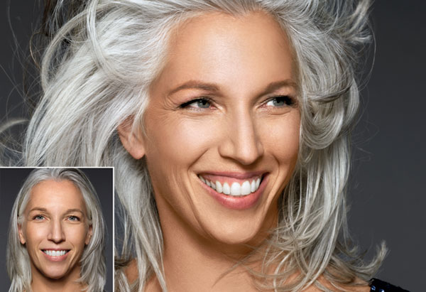 Gorgeous Gray Hair Makeovers
