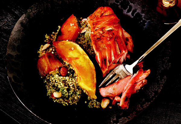 Ginger-Honey Glazed Salmon