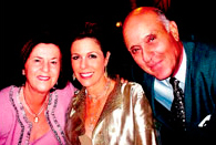 Rita Wilson and parents