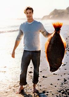 Barton Seaver and large fish