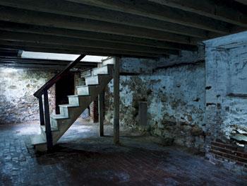 Edgar Allen Poe's basement