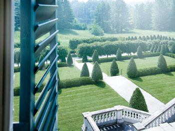 The view from Edith Wharton's window