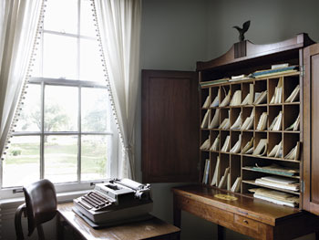 Eudora Welty's writing room