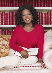 Oprah's library