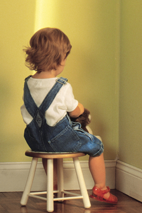 Child in time out