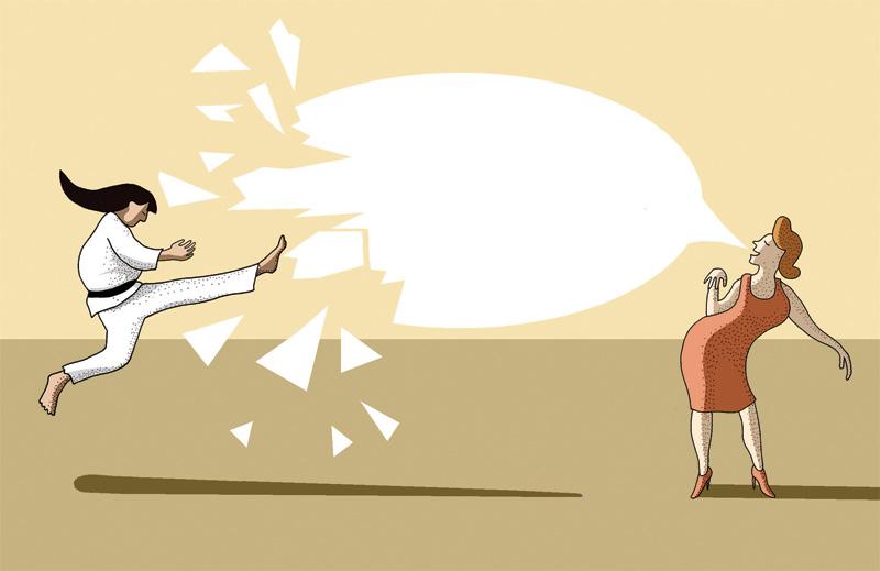 The Perfect Comeback for Your Passive-Aggressive Friends
