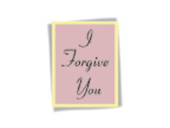 Mental tip: Practice the phrase I forgive you.