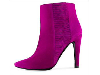 Kenneth Cole New York fuchsia boots