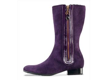 London Fog purple boots