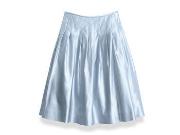 Lauren by Ralph Lauren satin skirt