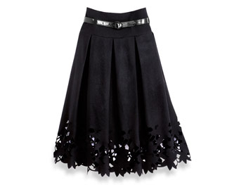Robert Rodriguez polka dot skirt