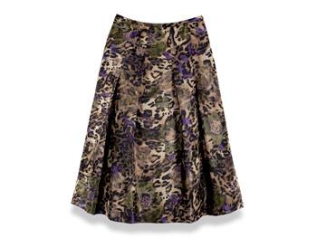 Floral Teri Jon Sportswear skirt