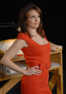 Tina Fey, back this month in 30 Rock