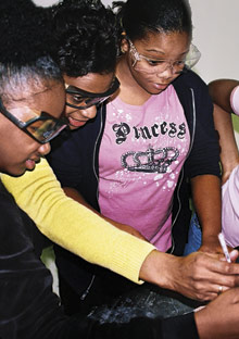 White House Project winners are getting girls into science.